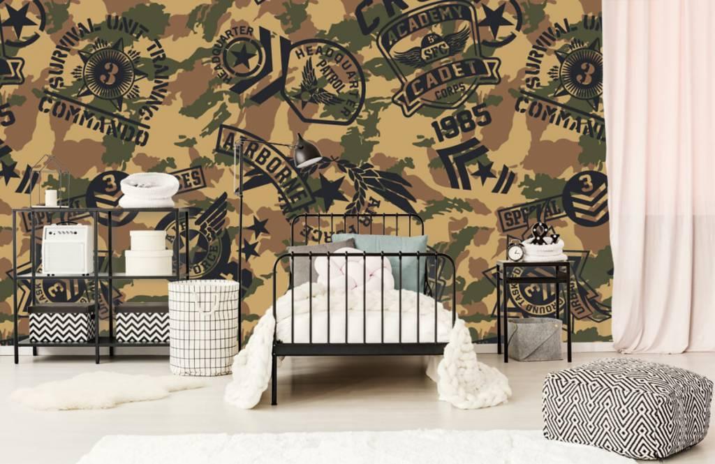 Autre - Camouflage avec logos - Chambre d'enfants 1