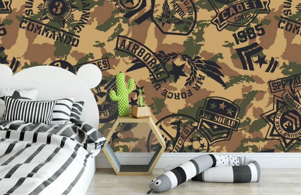 Autre - Camouflage avec logos - Chambre d'enfants 2