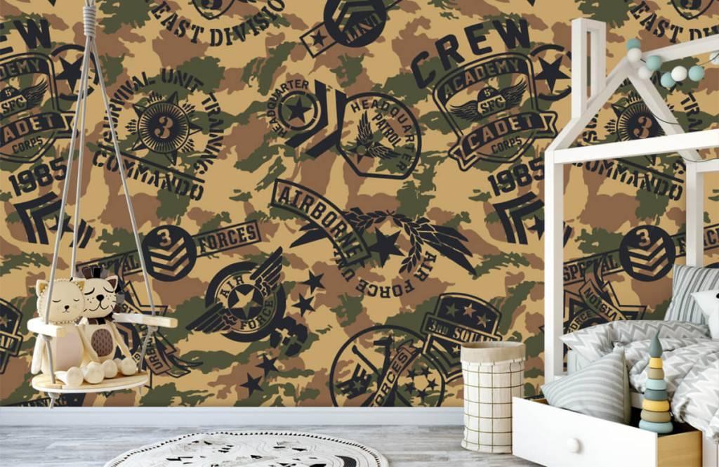 Autre - Camouflage avec logos - Chambre d'enfants 3