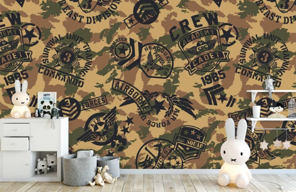 Autre - Camouflage avec logos - Chambre d'enfants 4