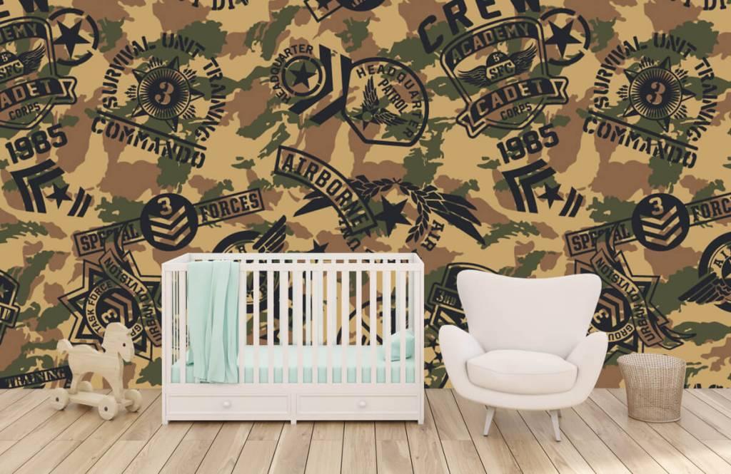 Autre - Camouflage avec logos - Chambre d'enfants 5