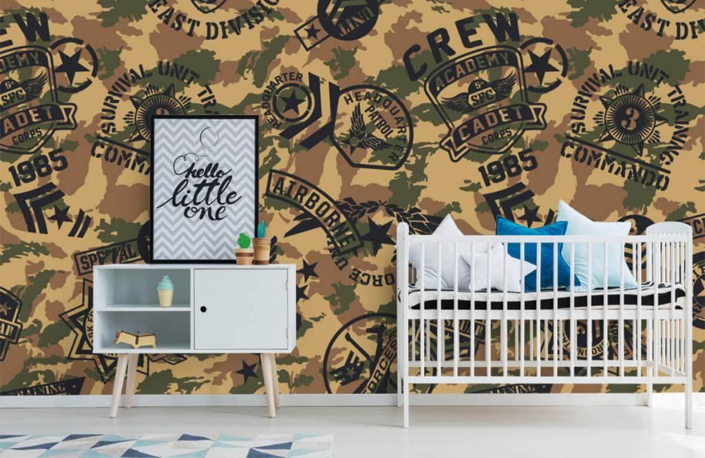 Autre - Camouflage avec logos - Chambre d'enfants 6