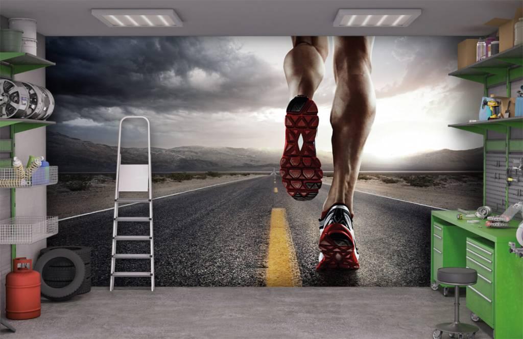 Sport et Fitness - Jambes d'un coureur - Entrepôt 1
