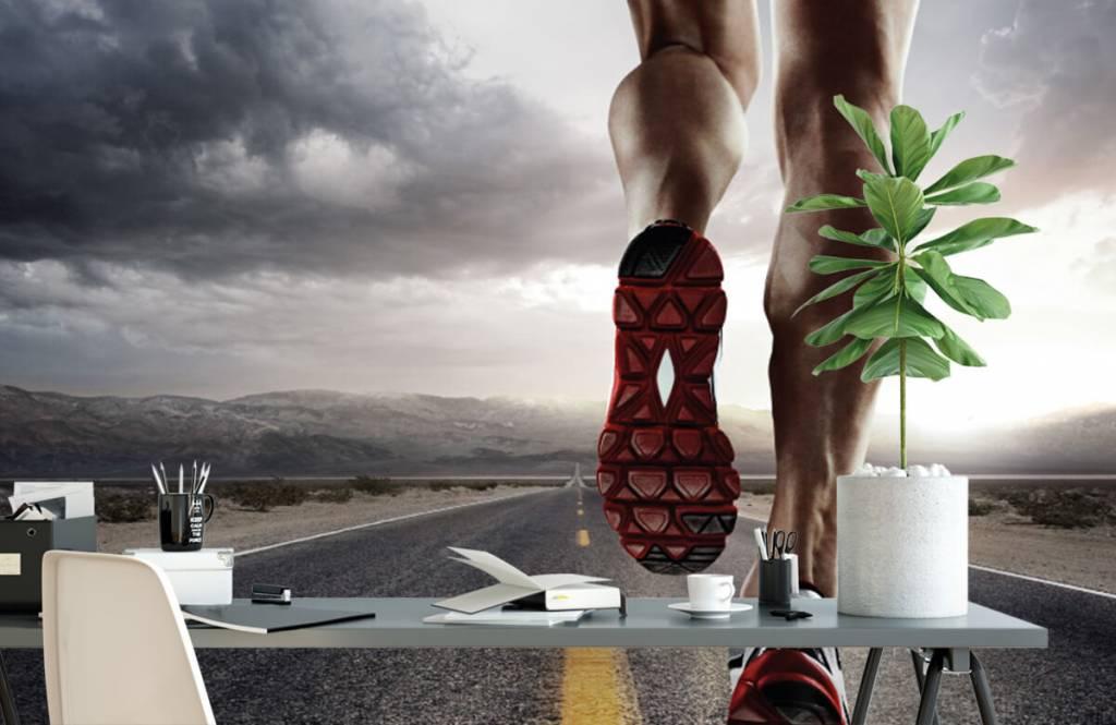 Sport et Fitness - Jambes d'un coureur - Entrepôt 3