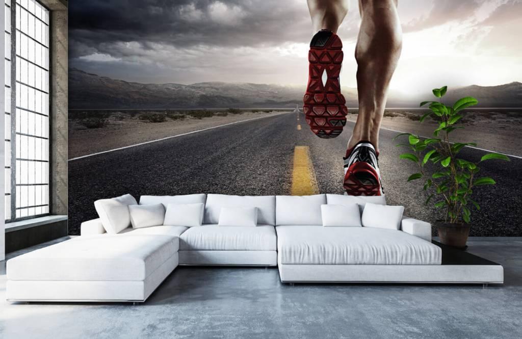 Sport et Fitness - Jambes d'un coureur - Entrepôt 7