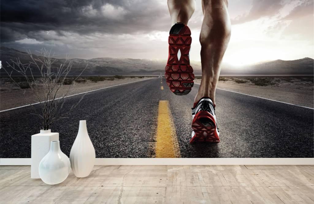 Sport et Fitness - Jambes d'un coureur - Entrepôt 9
