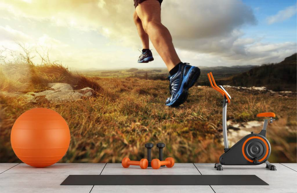 Sport et Fitness - Joggeur en action - Entrepôt 1
