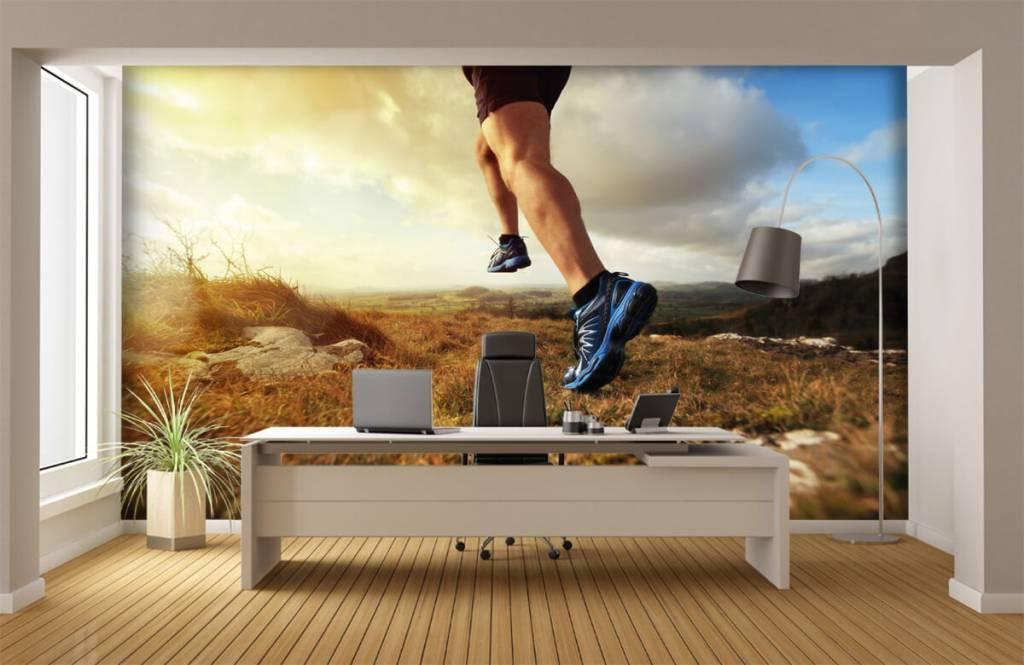 Sport et Fitness - Joggeur en action - Entrepôt 4