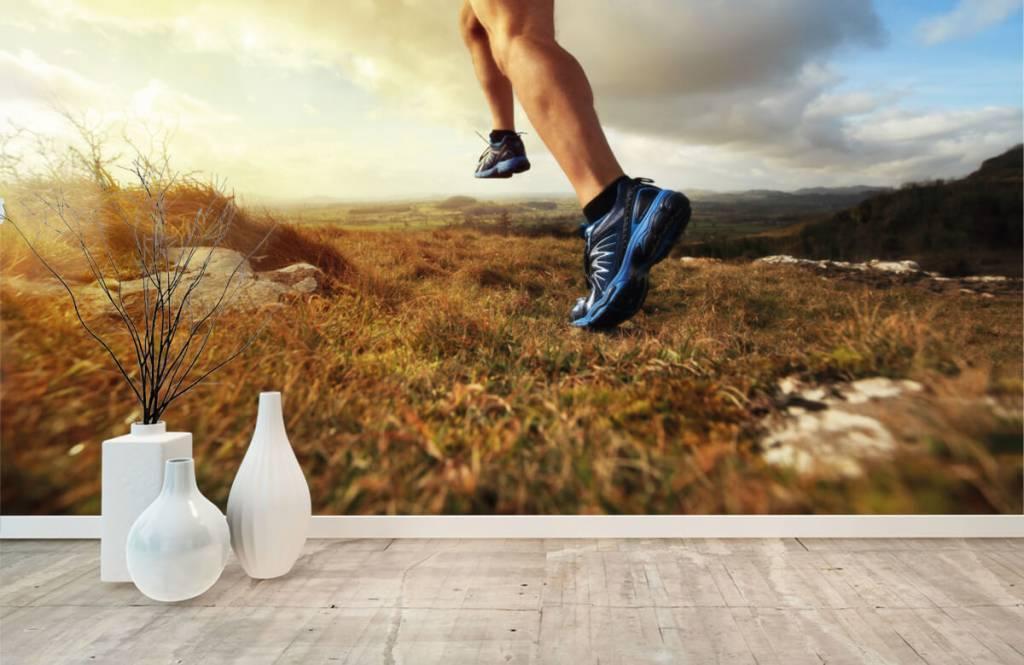 Sport et Fitness - Joggeur en action - Entrepôt 8