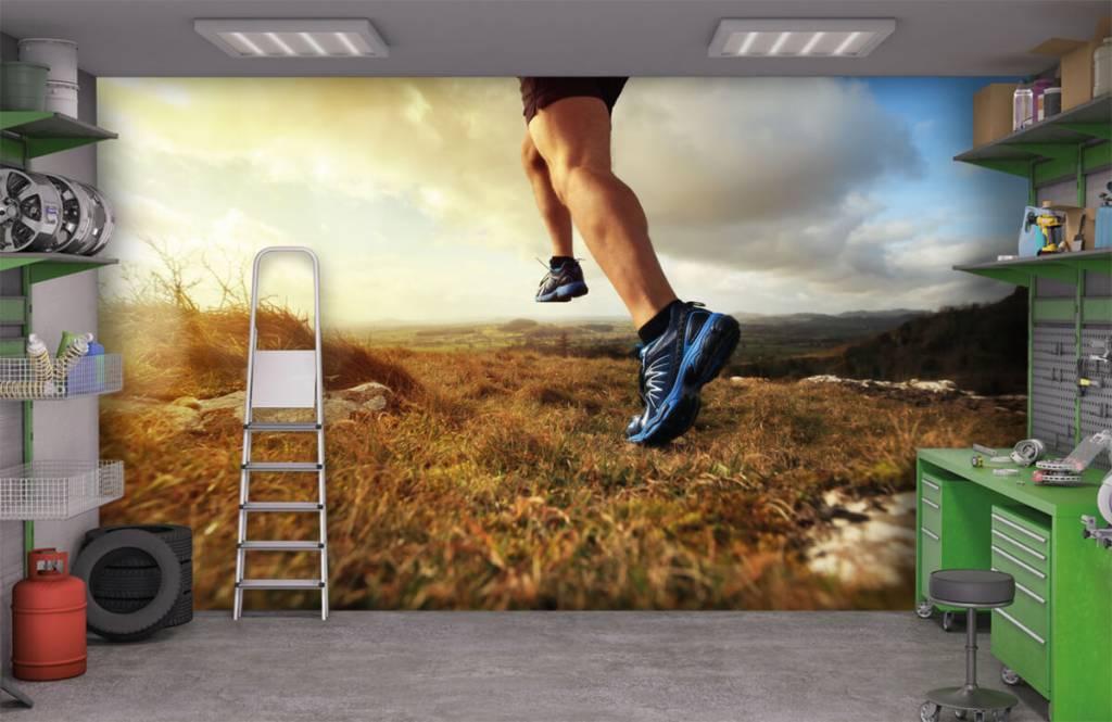 Sport et Fitness - Joggeur en action - Entrepôt 9