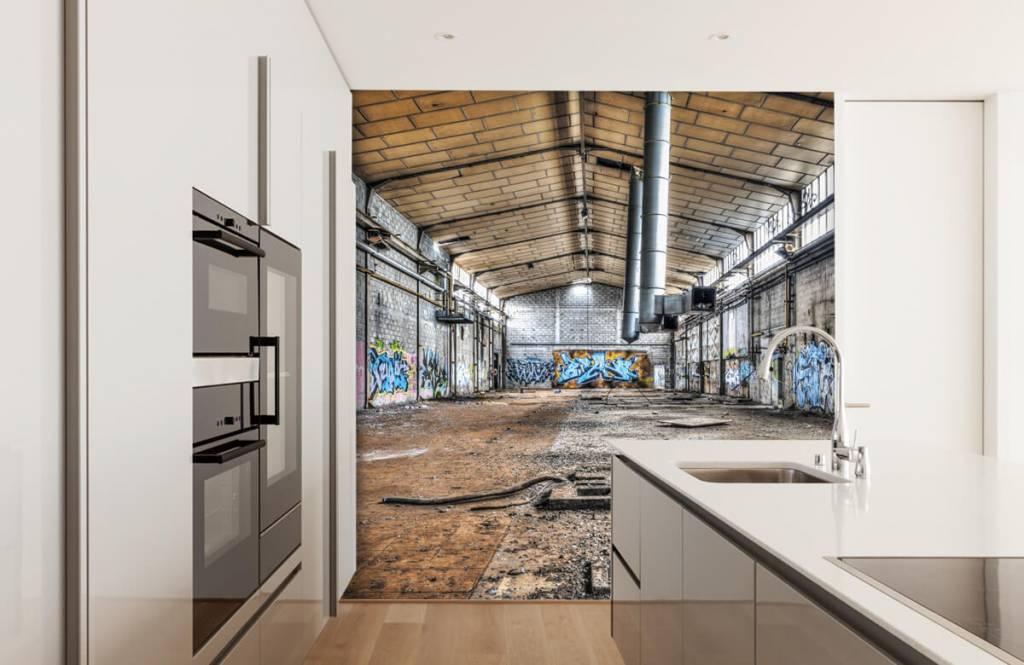 Bâtiments - Vieux hall d'usine abandonnée - Chambre d'adolescent 4