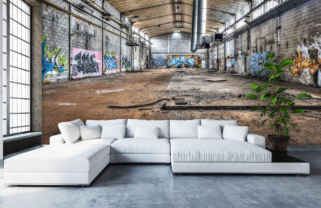 Bâtiments - Vieux hall d'usine abandonnée - Chambre d'adolescent 6