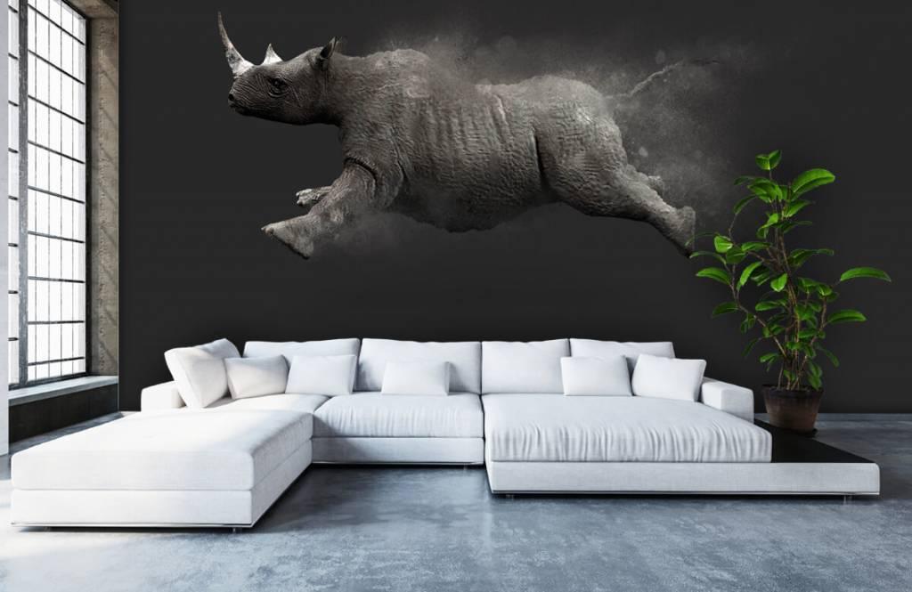 Autre - Rhinocéros sauteur - Chambre d'adolescent 4