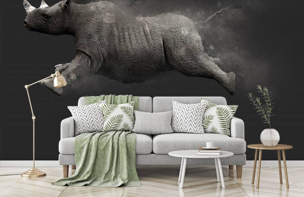 Autre - Rhinocéros sauteur - Chambre d'adolescent 6