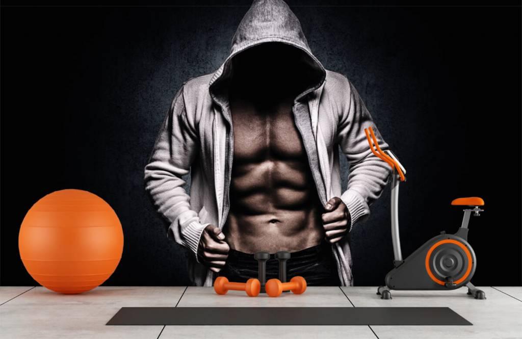 Fitness - Homme musclé - Salle de Loisirs 1