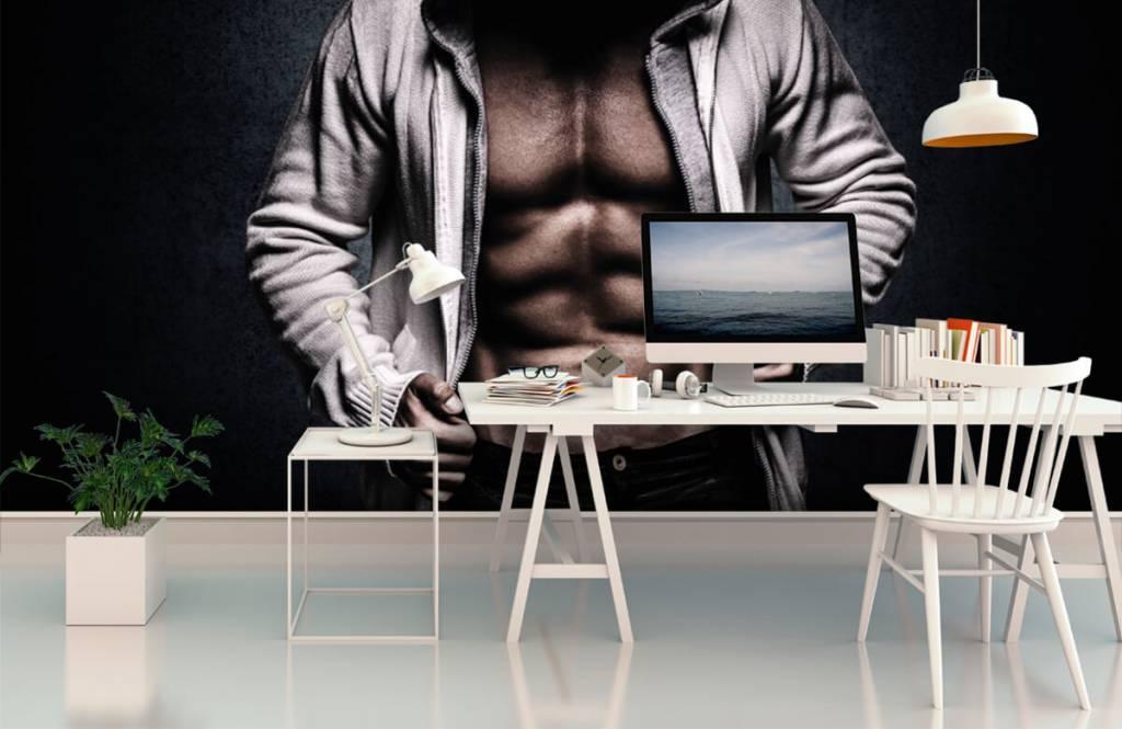 Fitness - Homme musclé - Salle de Loisirs 3