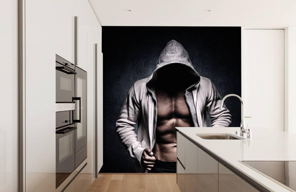 Fitness - Homme musclé - Salle de Loisirs 6