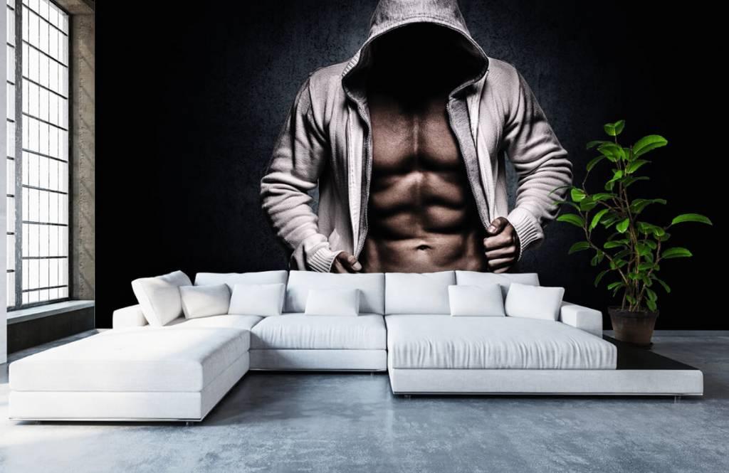 Fitness - Homme musclé - Salle de Loisirs 7