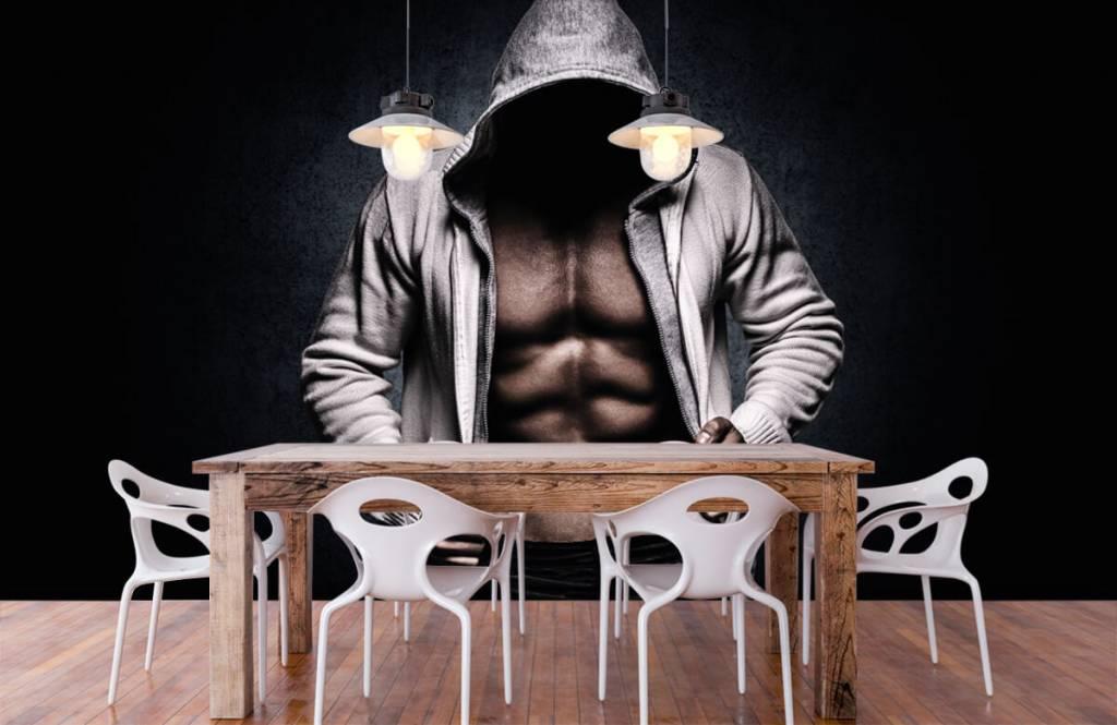 Fitness - Homme musclé - Salle de Loisirs 8
