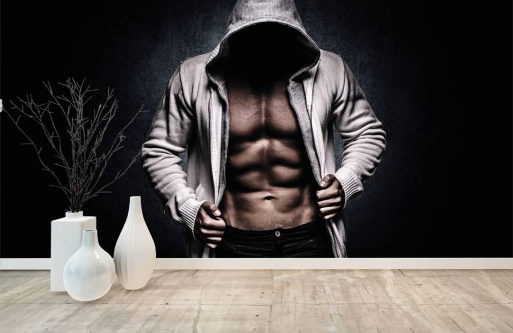 Fitness - Homme musclé - Salle de Loisirs 9
