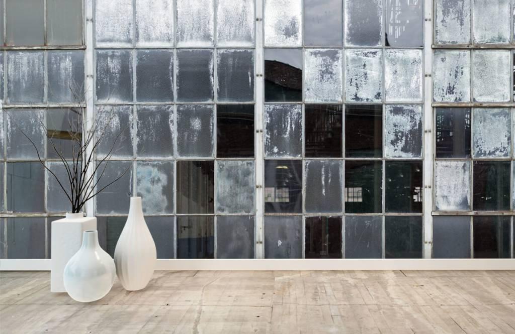 Bâtiments - Ancienne fenêtre d'usine - Salle de Loisirs 8