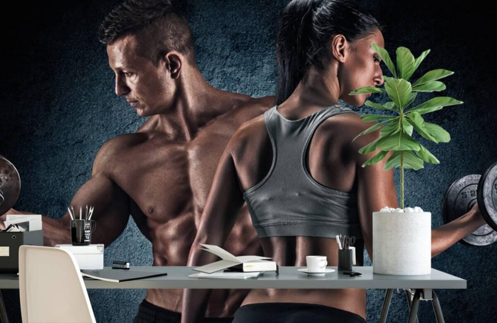 Fitness - Couple athlétique - Salle de Loisirs 2