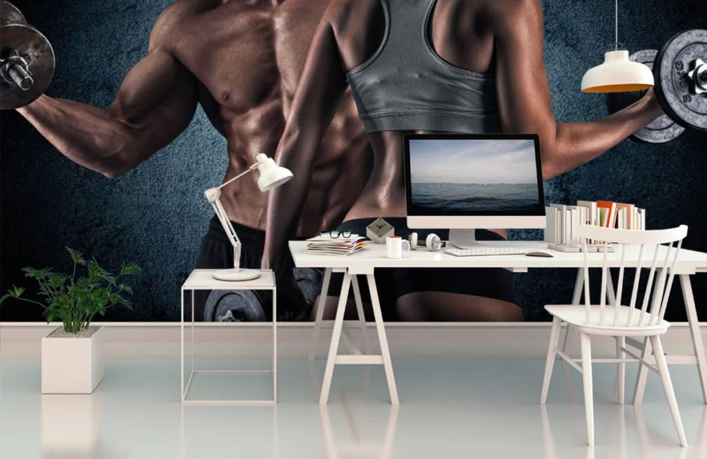 Fitness - Couple athlétique - Salle de Loisirs 3