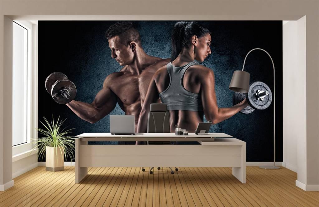 Fitness - Couple athlétique - Salle de Loisirs 4