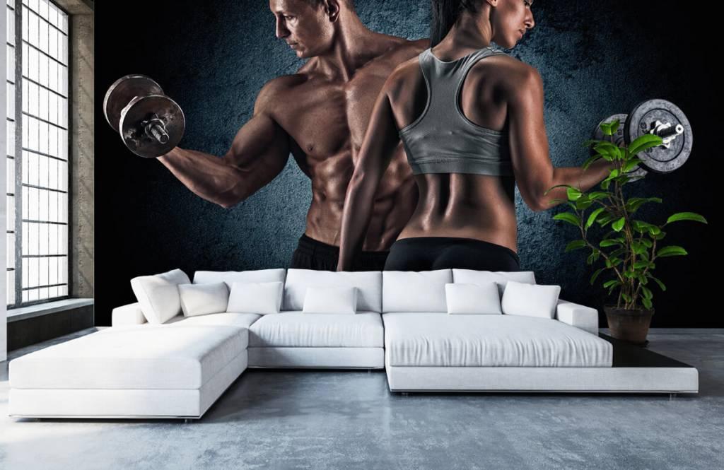 Fitness - Couple athlétique - Salle de Loisirs 6