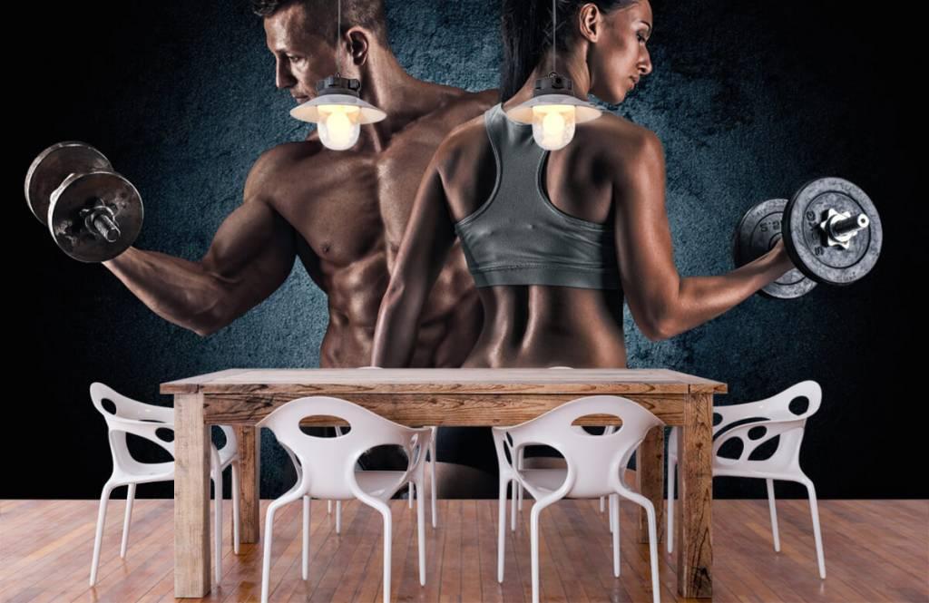 Fitness - Couple athlétique - Salle de Loisirs 7