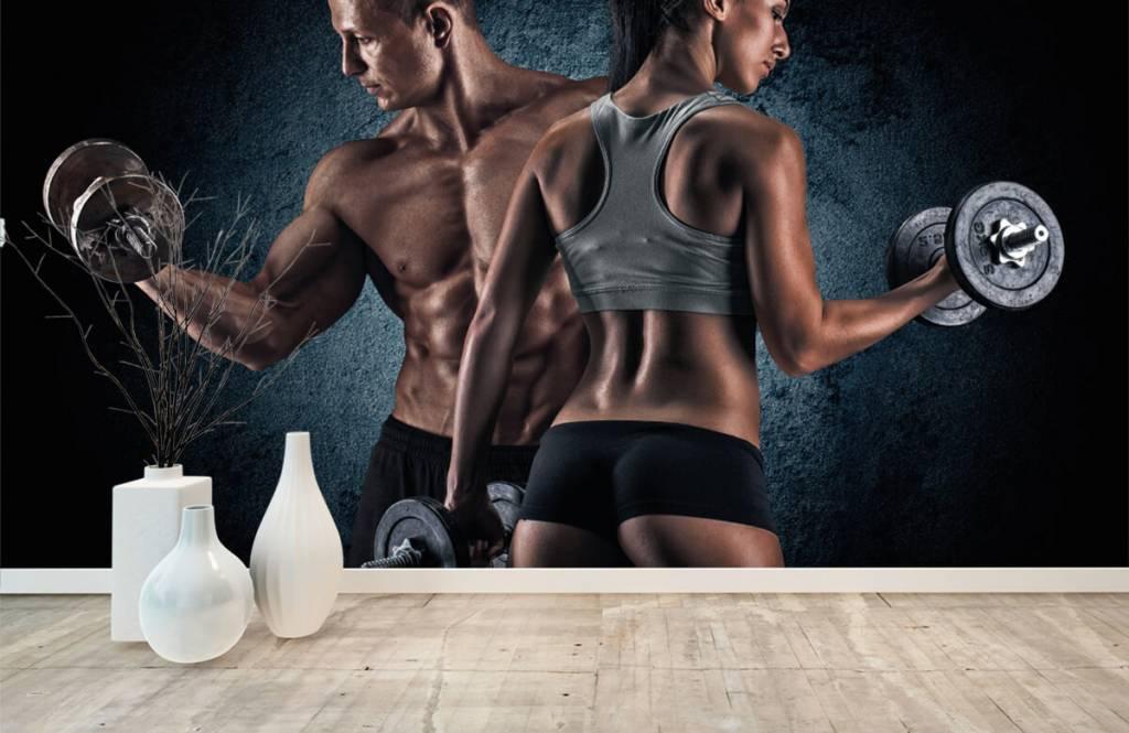 Fitness - Couple athlétique - Salle de Loisirs 8