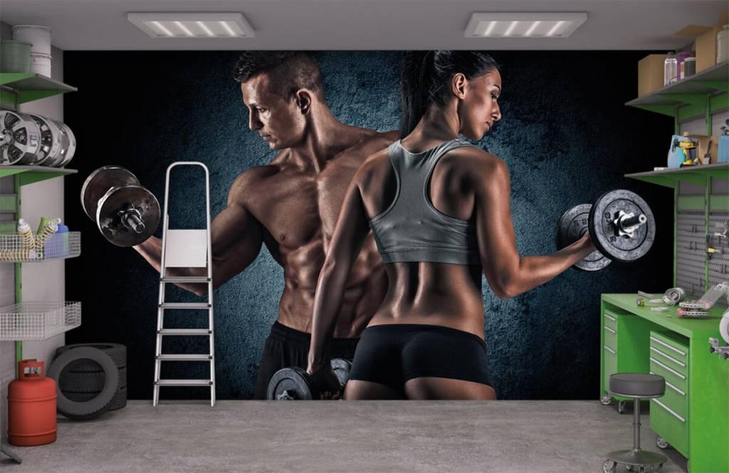 Fitness - Couple athlétique - Salle de Loisirs 9