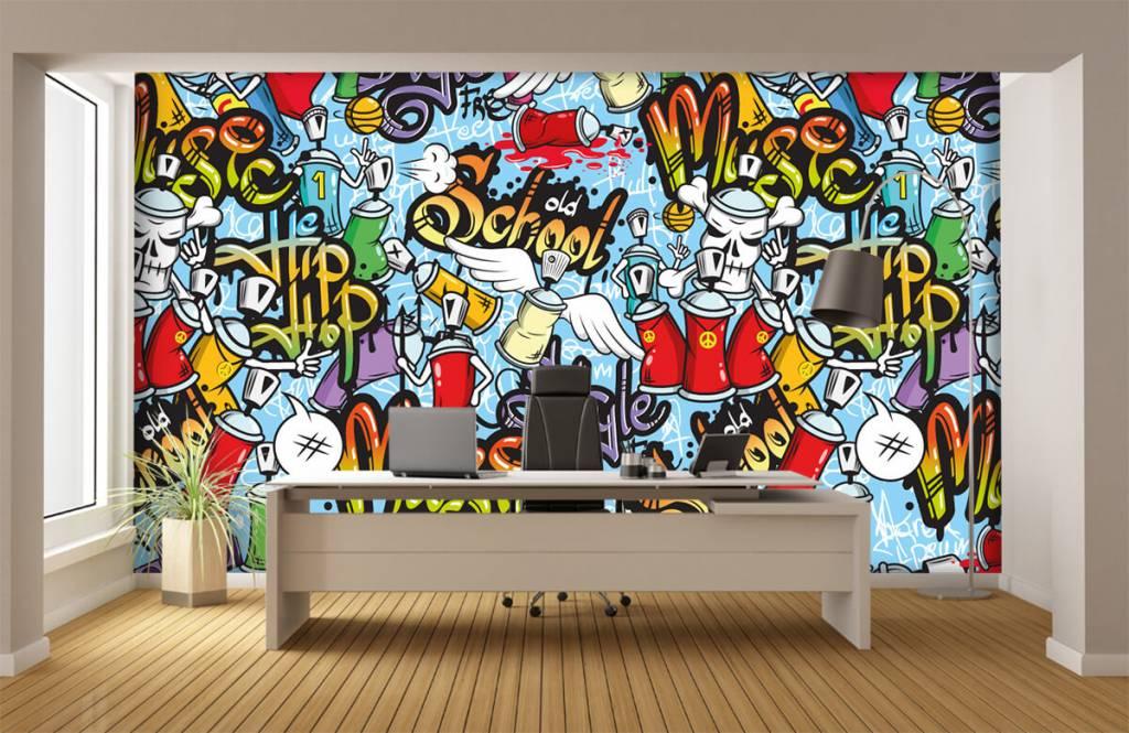 Papier peint enfants - Différents styles de musique - Chambre d'enfants 3