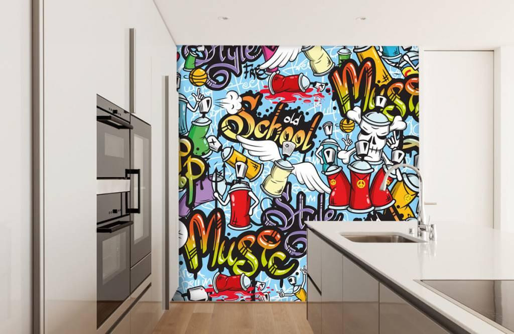Papier peint enfants - Différents styles de musique - Chambre d'enfants 4