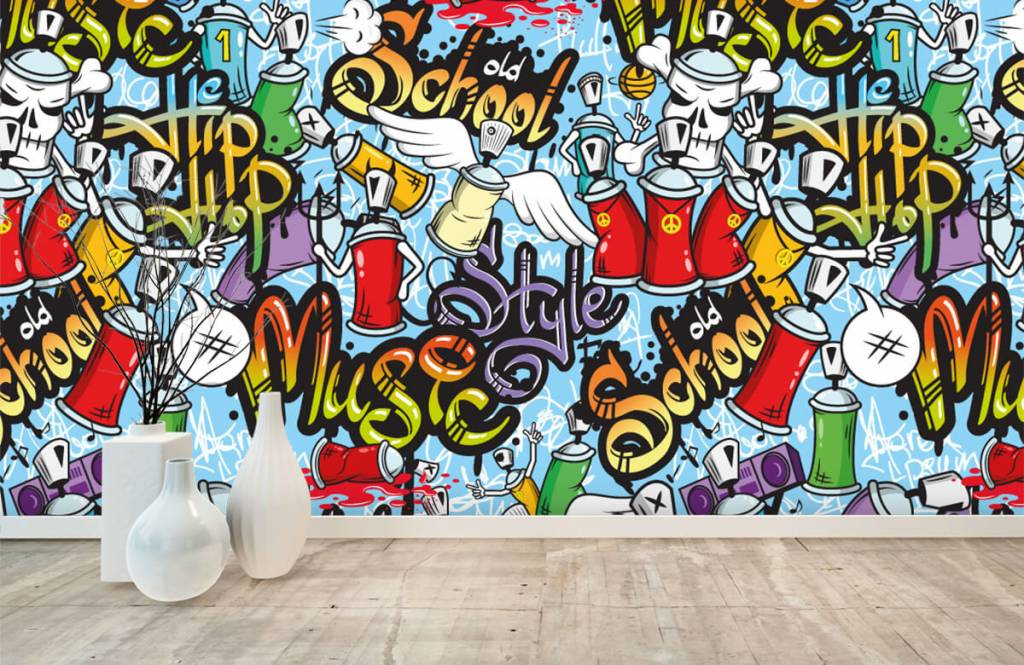 Papier peint enfants - Différents styles de musique - Chambre d'enfants 7