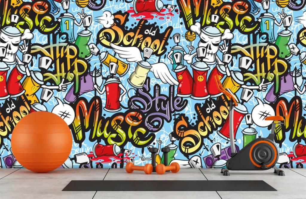 Papier peint enfants - Différents styles de musique - Chambre d'enfants 8