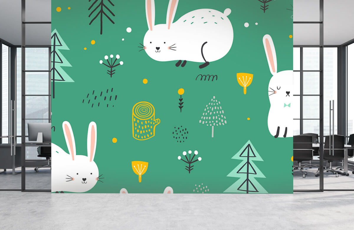 Pattern Motif de lapins 6