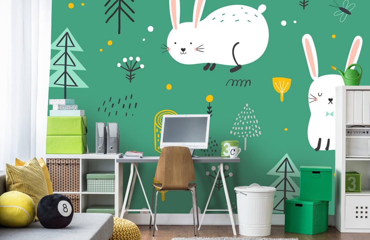 Pattern Motif de lapins 4