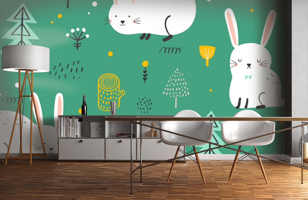 Pattern Motif de lapins 11