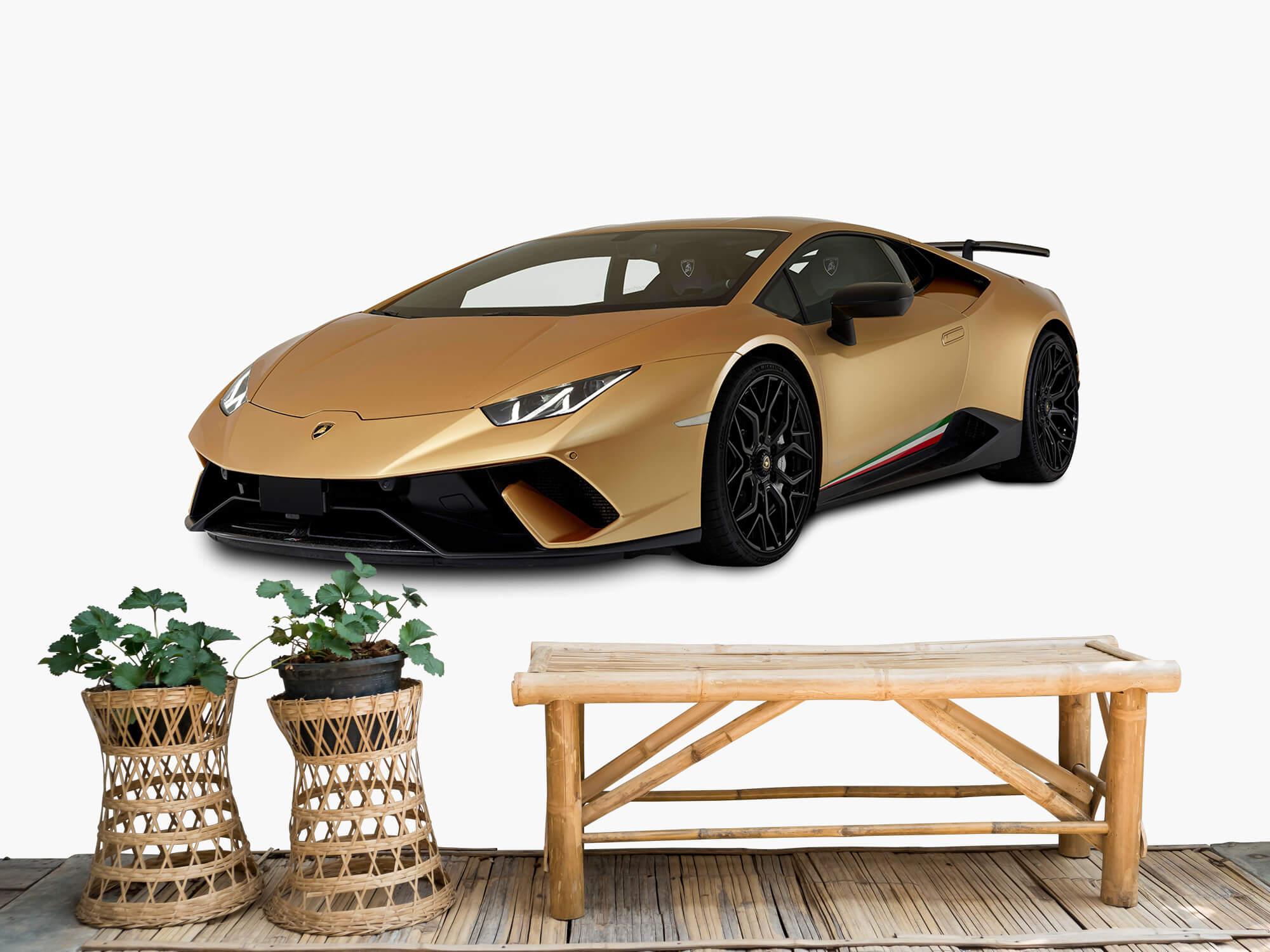 Wallpaper Lamborghini Huracán - Avant droit, blanc 1