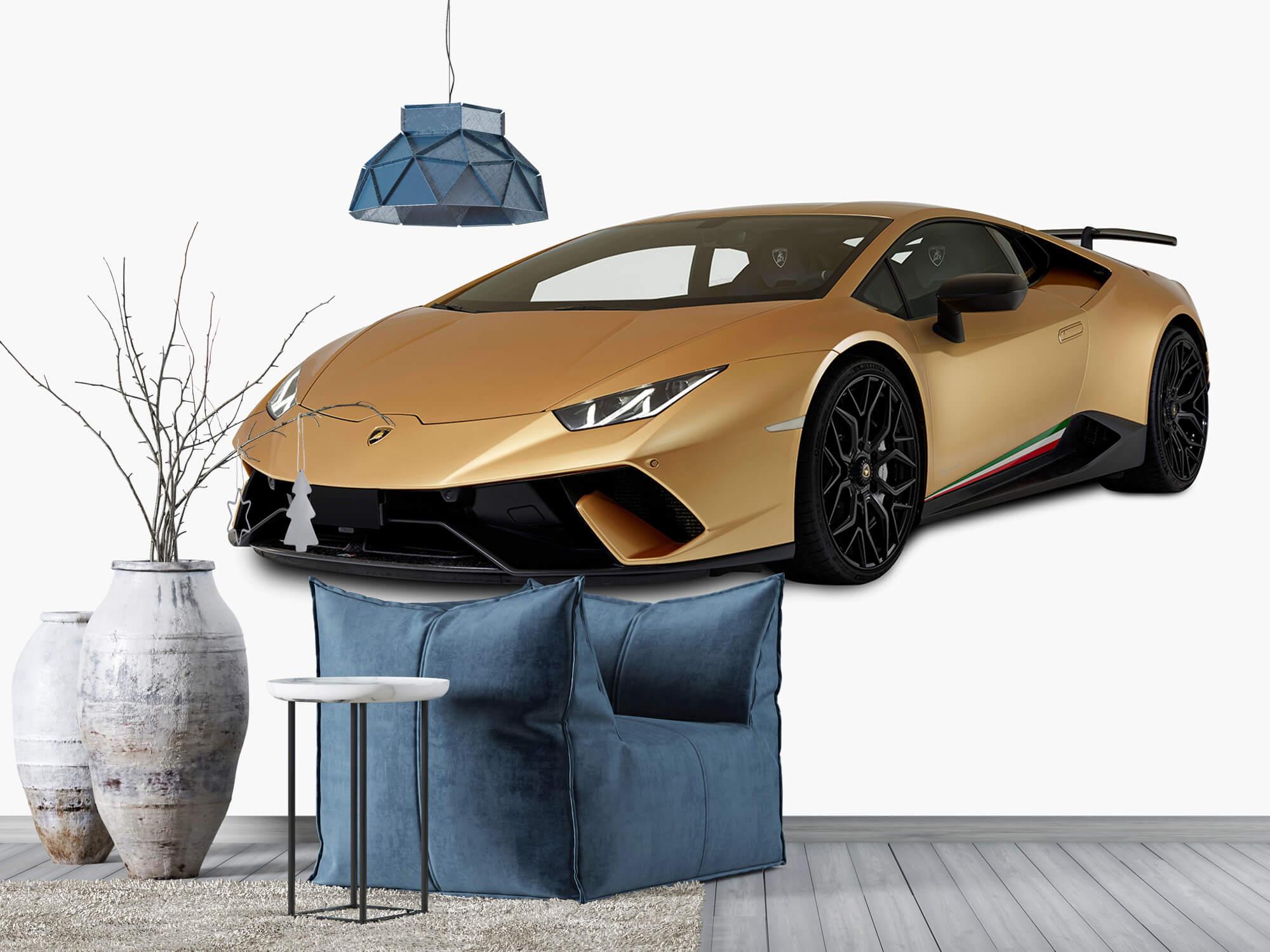 Wallpaper Lamborghini Huracán - Avant droit, blanc 6