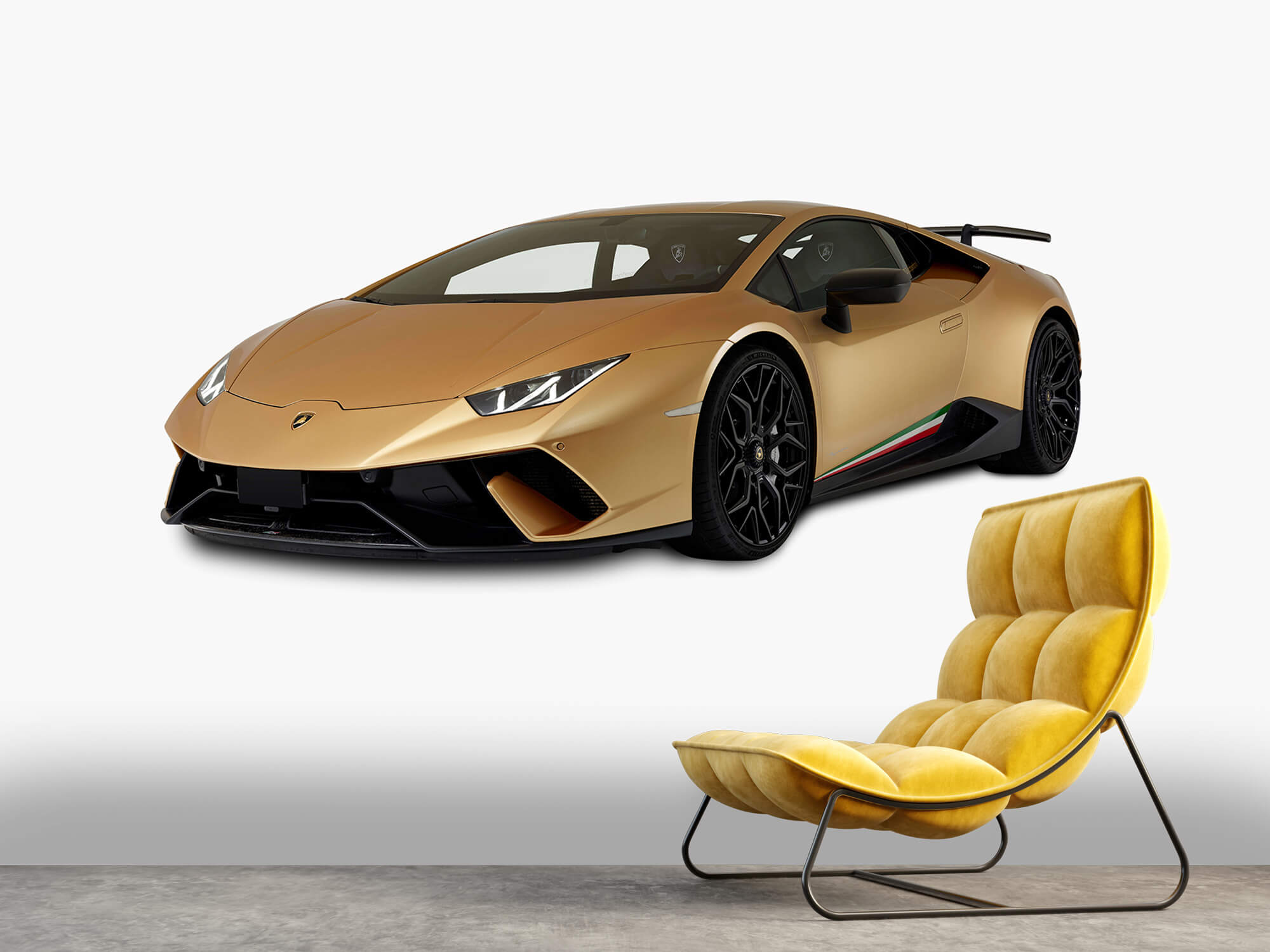 Wallpaper Lamborghini Huracán - Avant droit, blanc 7