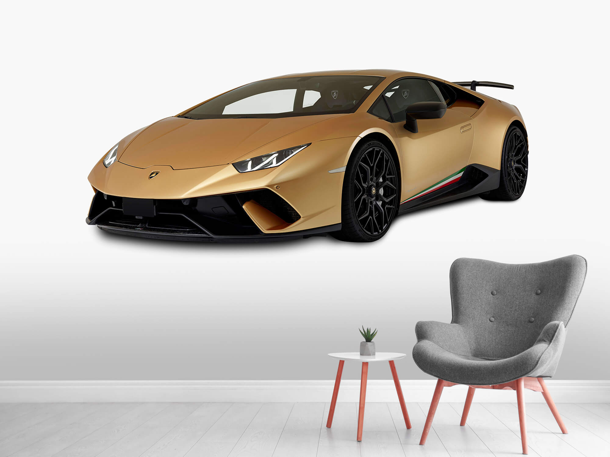 Wallpaper Lamborghini Huracán - Avant droit, blanc 9