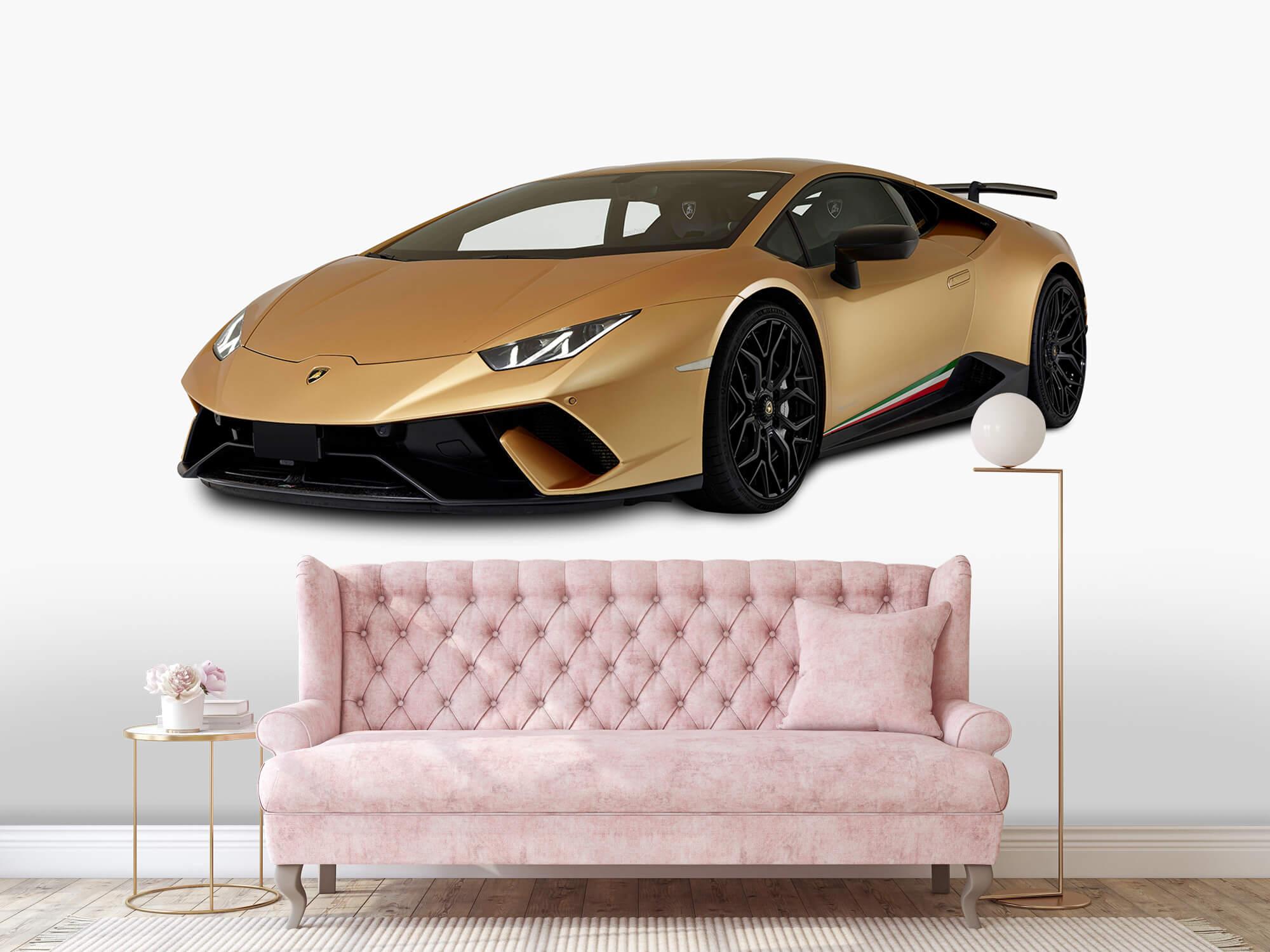 Wallpaper Lamborghini Huracán - Avant droit, blanc 12