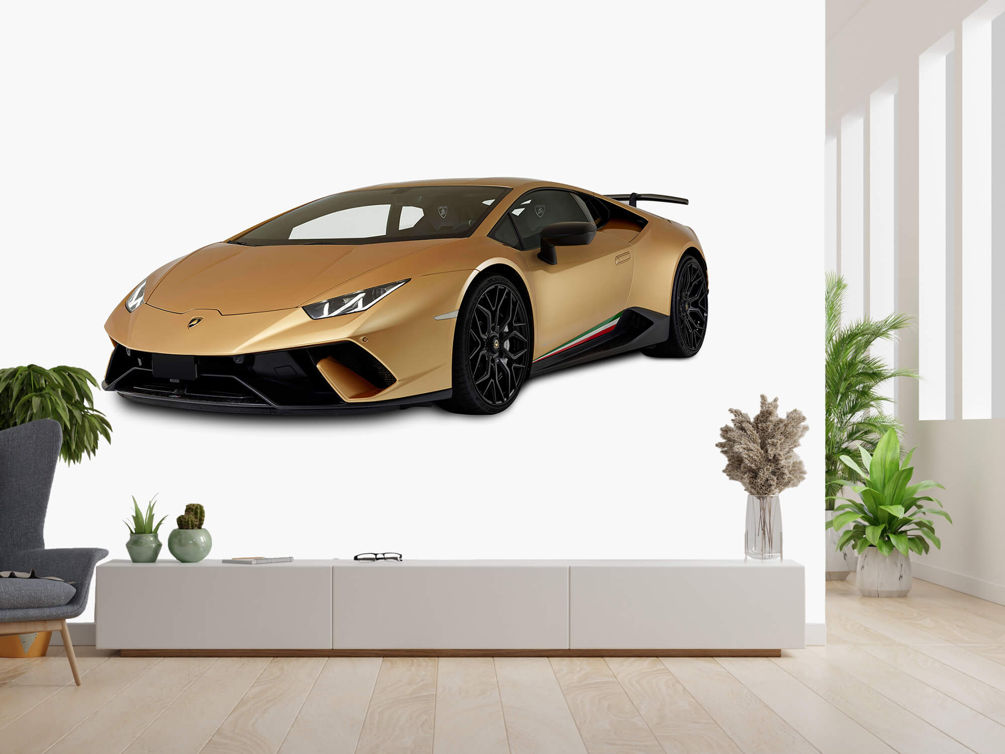 Wallpaper Lamborghini Huracán - Avant droit, blanc 14