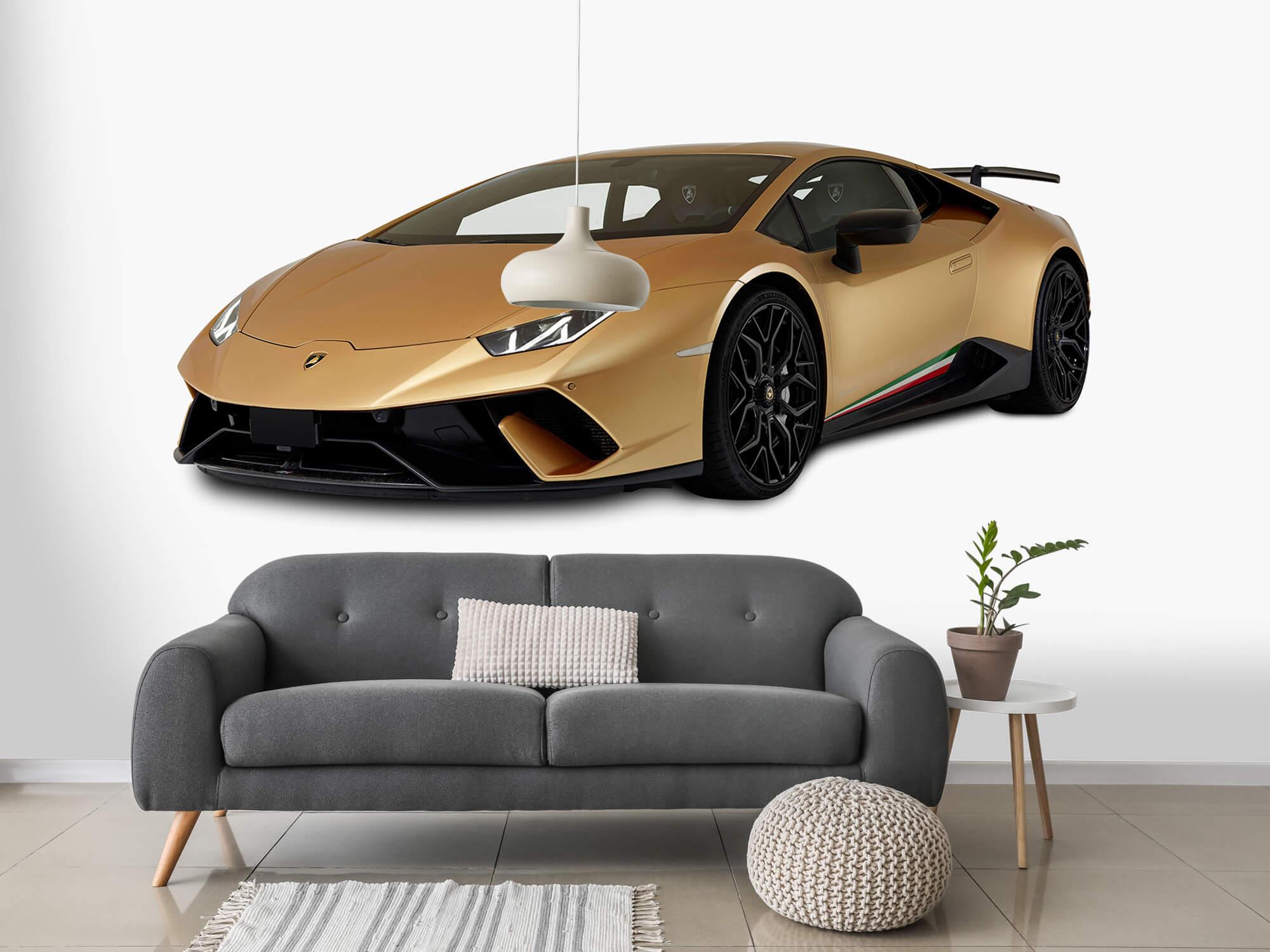 Wallpaper Lamborghini Huracán - Avant droit, blanc 15