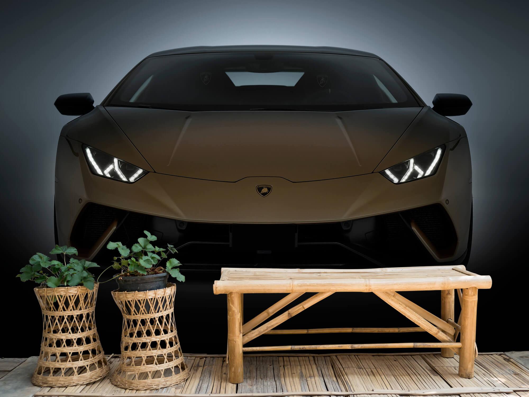 Wallpaper Lamborghini Huracán - Face avant 8