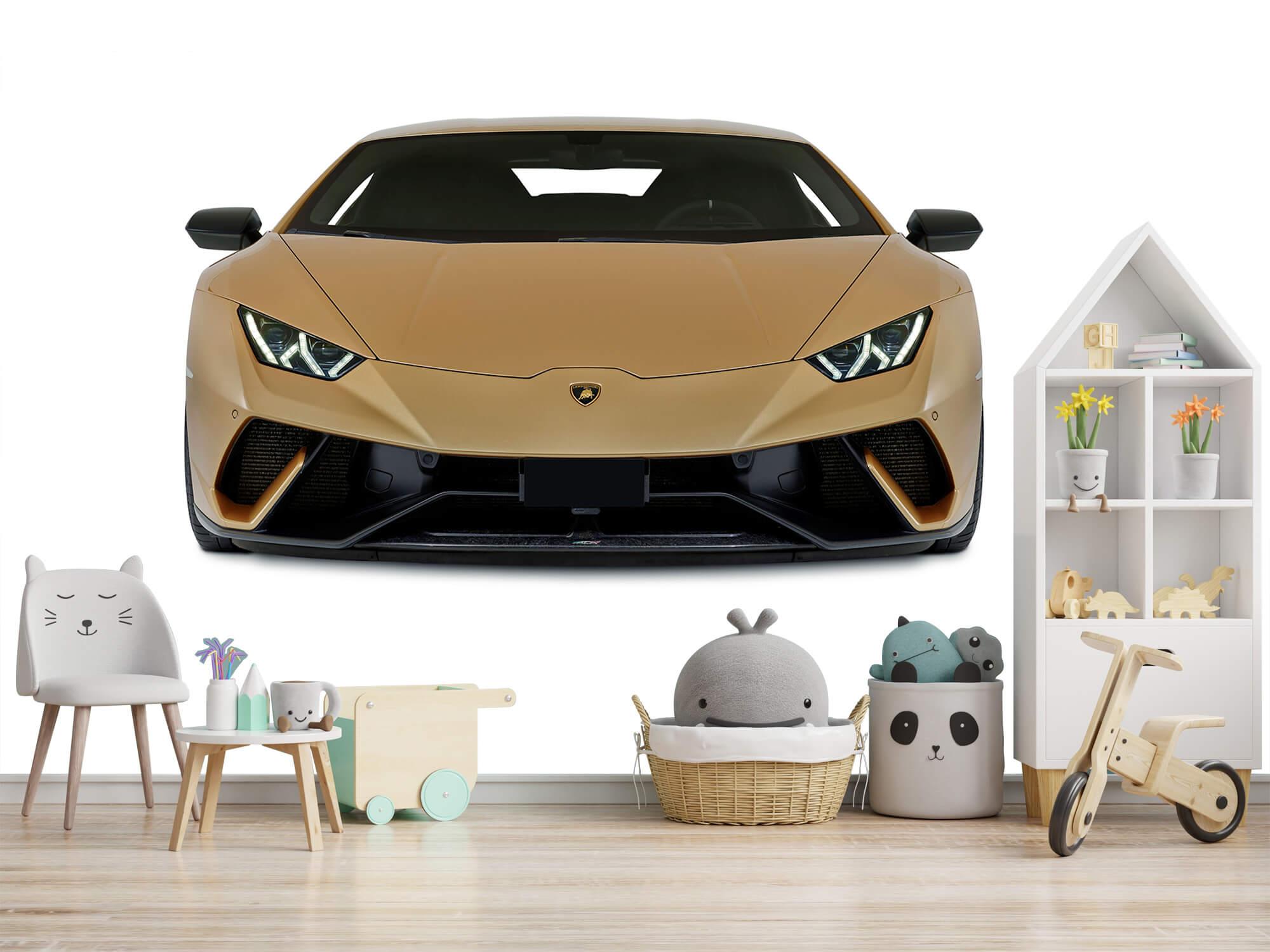 Wallpaper Lamborghini Huracán - Avant, blanc 2