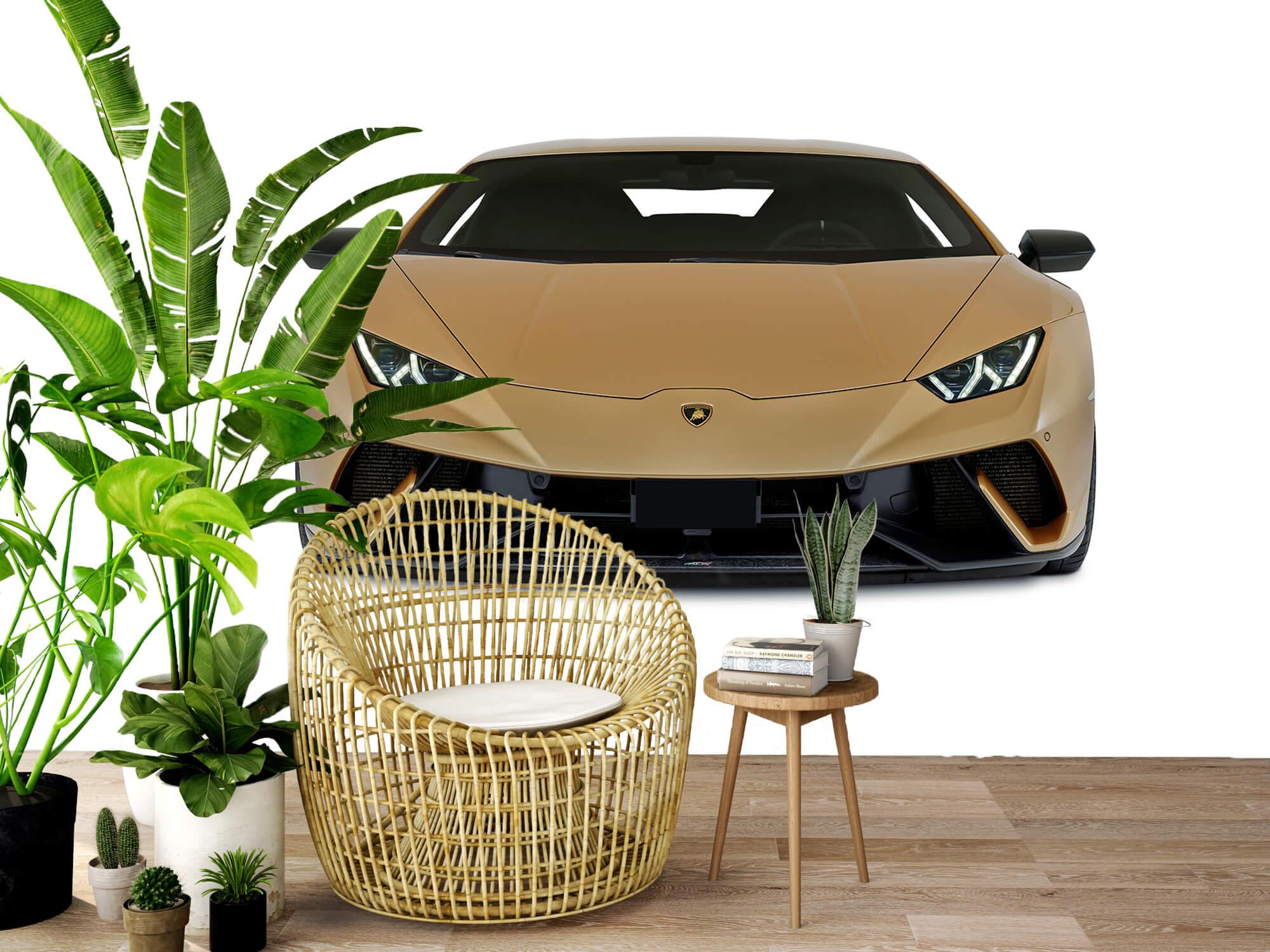 Wallpaper Lamborghini Huracán - Avant, blanc 3