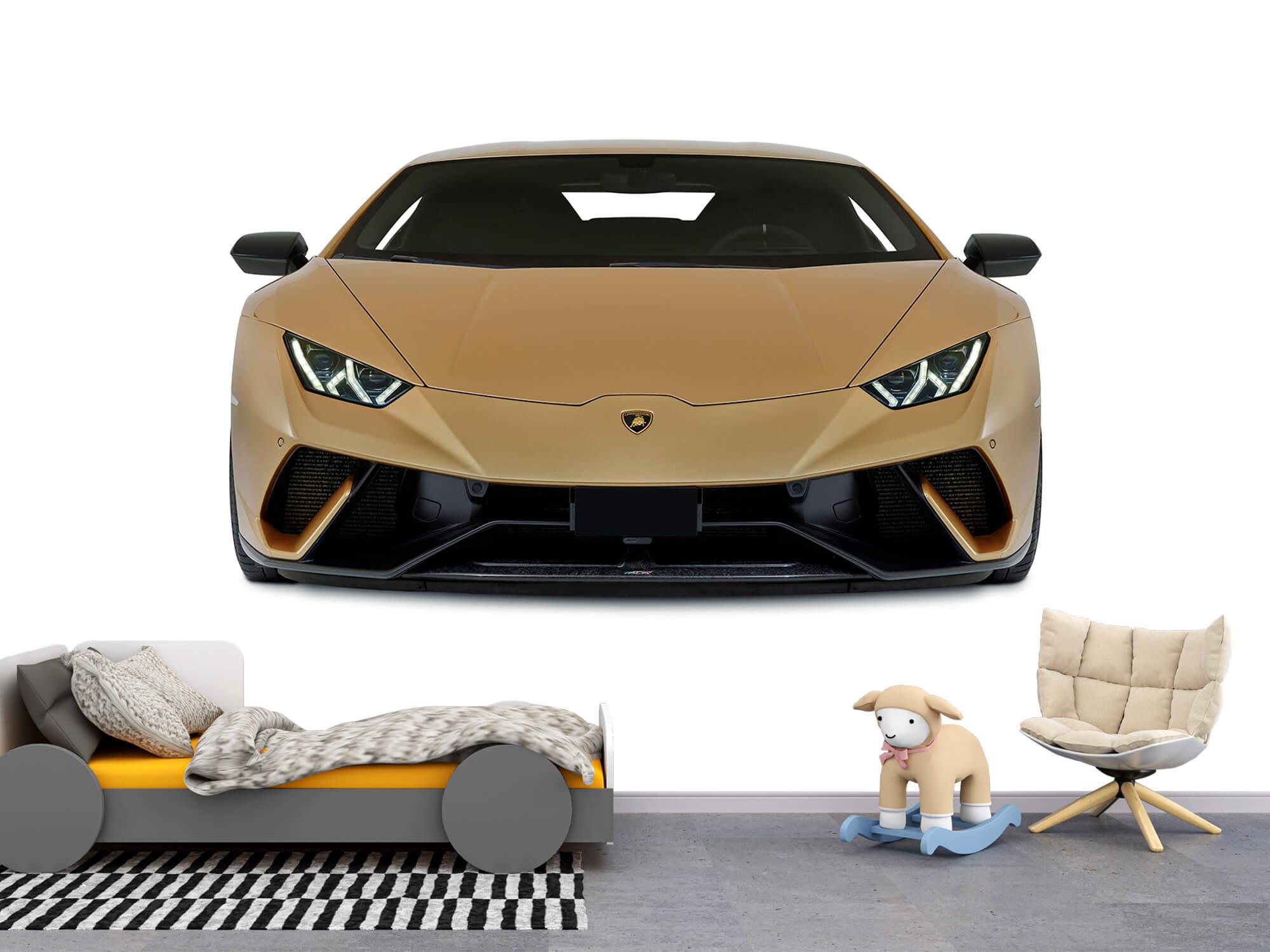 Wallpaper Lamborghini Huracán - Avant, blanc 4